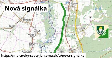 ilustrácia k Nová signálka, Moravský Svätý Ján - 5,8km