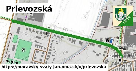ilustrácia k Prievozská, Moravský Svätý Ján - 657m
