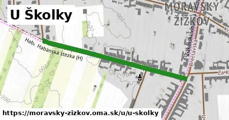 ilustrácia k U Školky, Moravský Žižkov - 483m