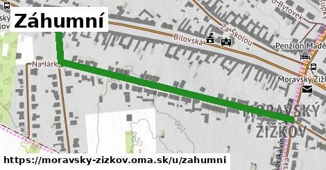 ilustrácia k Záhumní, Moravský Žižkov - 657m