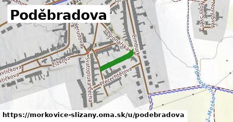 ilustrácia k Poděbradova, Morkovice-Slížany - 117m