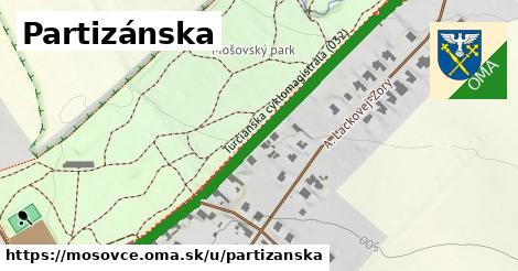 ilustrácia k Partizánska, Mošovce - 0,79km
