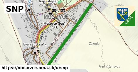 ilustračný obrázok k SNP, Mošovce