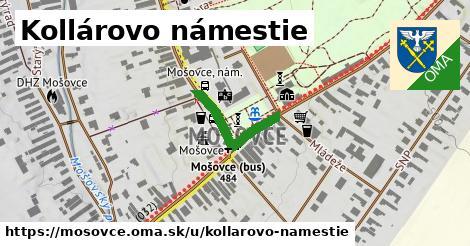 ilustrácia k Kollárovo námestie, Mošovce - 197m