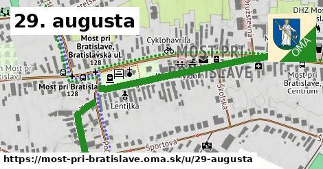 ilustrácia k 29. augusta, Most pri Bratislave - 551m