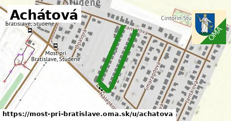 ilustrácia k Achátová, Most pri Bratislave - 456m