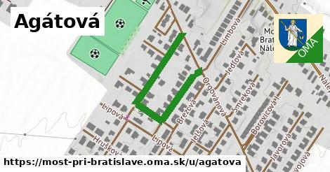 ilustrácia k Agátová, Most pri Bratislave - 407m