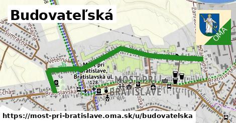 ilustrácia k Budovateľská, Most pri Bratislave - 1,03km