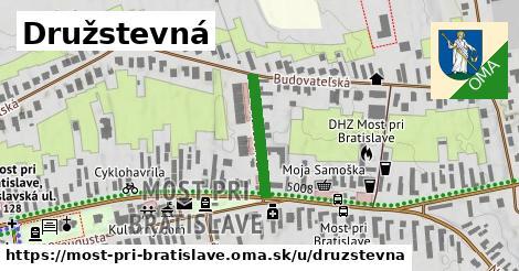 ilustračný obrázok k Družstevná, Most pri Bratislave