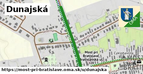 ilustrácia k Dunajská, Most pri Bratislave - 349m