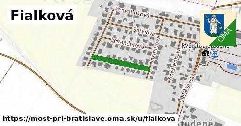ilustrácia k Fialková, Most pri Bratislave - 179m