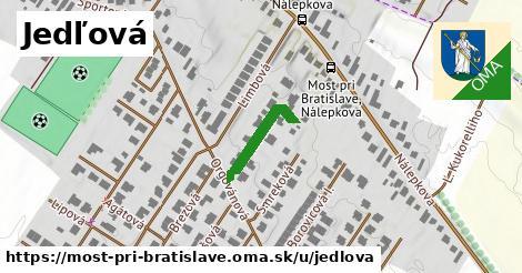 ilustrácia k Jedľová, Most pri Bratislave - 161m