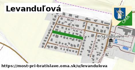 ilustrácia k Levanduľová, Most pri Bratislave - 170m