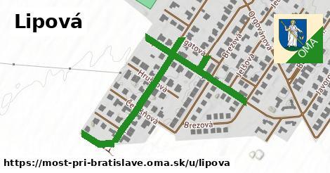 ilustrácia k Lipová, Most pri Bratislave - 610m