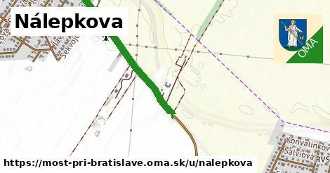 ilustrácia k Nálepkova, Most pri Bratislave - 1,28km