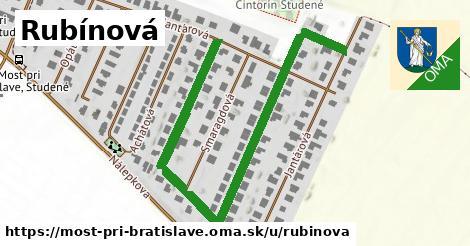ilustrácia k Rubínová, Most pri Bratislave - 0,77km