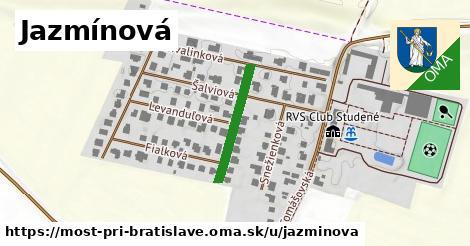 ilustrácia k Jazmínová, Most pri Bratislave - 198m