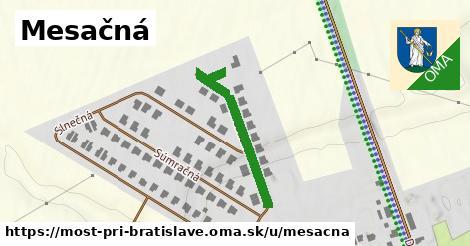 ilustrácia k Mesačná, Most pri Bratislave - 256m