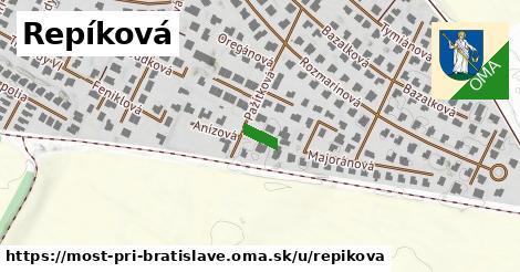 ilustrácia k Repíková, Most pri Bratislave - 52m