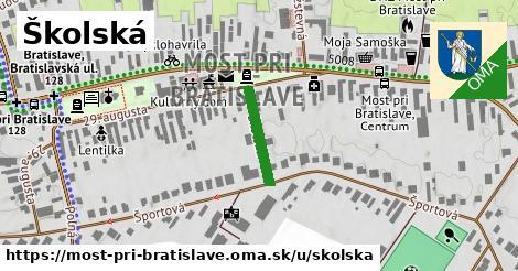 Školská, Most pri Bratislave