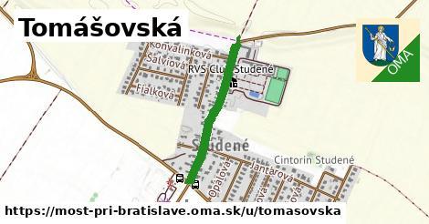 ilustrácia k Tomášovská, Most pri Bratislave - 534m