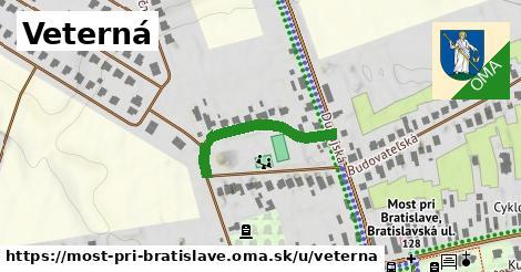 ilustrácia k Veterná, Most pri Bratislave - 252m