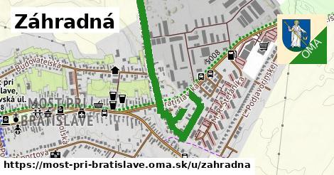 ilustrácia k Záhradná, Most pri Bratislave - 1,03km