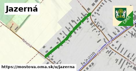ilustrácia k Jazerná, Mostová - 363m