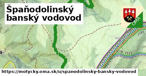 ilustrácia k Špaňodolinský banský vodovod, Motyčky - 2,3km