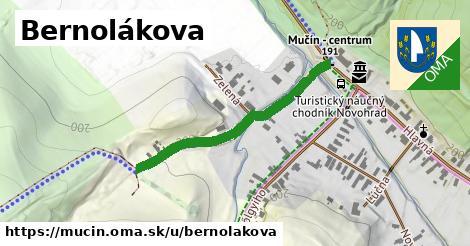ilustrácia k Bernolákova, Mučín - 358m