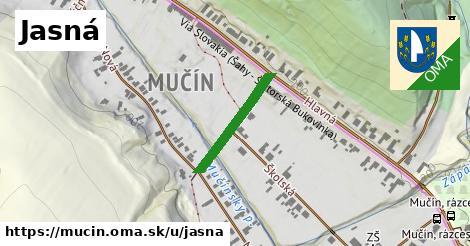 ilustrácia k Jasná, Mučín - 199m