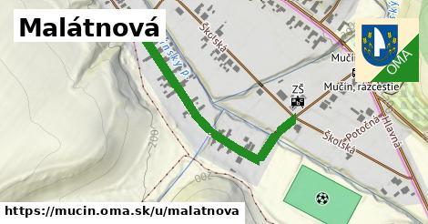 ilustrácia k Malátnová, Mučín - 410m