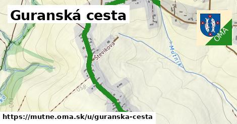 ilustrácia k Guranská cesta, Mútne - 1,60km