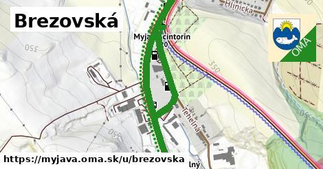 ilustrácia k Brezovská, Myjava - 1,49km