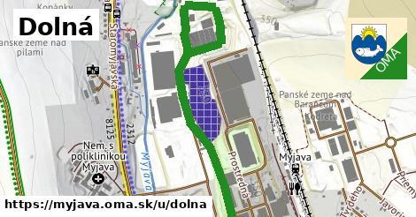 ilustrácia k Dolná, Myjava - 243m