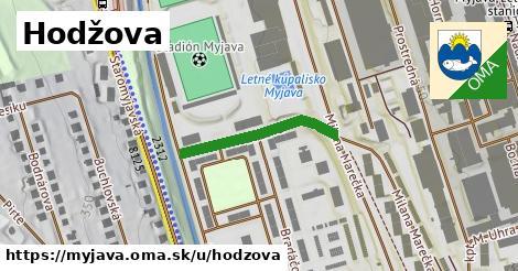 ilustrácia k Hodžova, Myjava - 240m