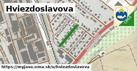 ilustrácia k Hviezdoslavova, Myjava - 155m