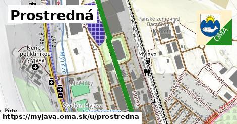 ilustrácia k Prostredná, Myjava - 1,15km