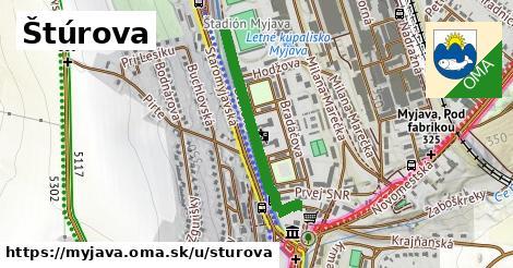 ilustrácia k Štúrova, Myjava - 352m