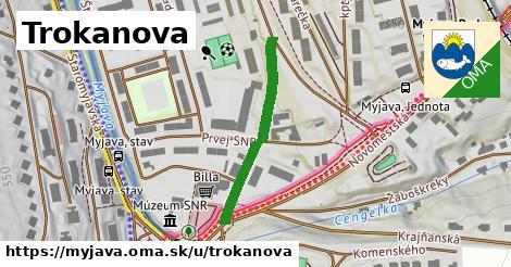 ilustračný obrázok k Trokanova, Myjava