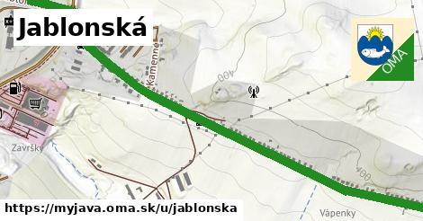 Jablonská, Myjava