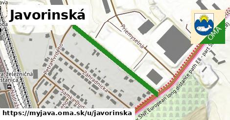 ilustrácia k Javorinská, Myjava - 355m