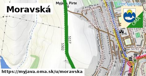 ilustrácia k Moravská, Myjava - 1,90km