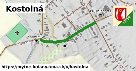 ilustrácia k Kostolná, Mýtne Ludany - 342m