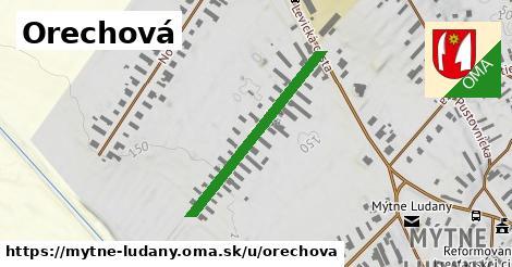 ilustrácia k Orechová, Mýtne Ludany - 308m