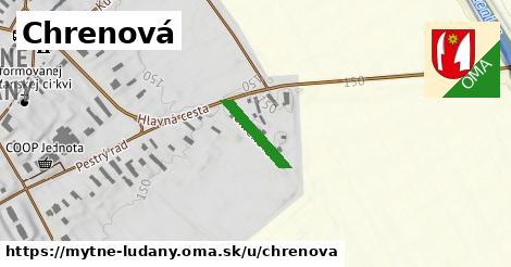 ilustrácia k Chrenová, Mýtne Ludany - 132m
