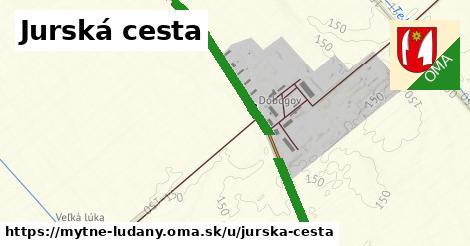 ilustrácia k Jurská cesta, Mýtne Ludany - 1,98km