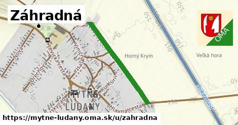 ilustrácia k Záhradná, Mýtne Ludany - 0,74km