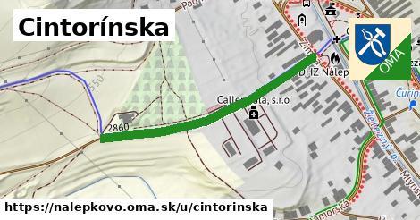 ilustrácia k Cintorínska, Nálepkovo - 406m
