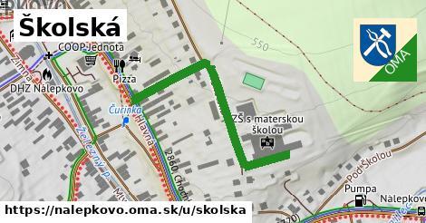 ilustračný obrázok k Školská, Nálepkovo